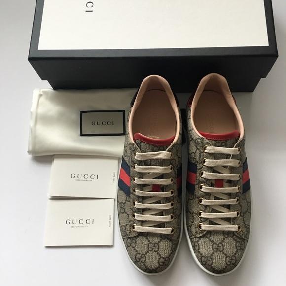 d4965b32634 Gucci Ace GG Supreme Sneaker